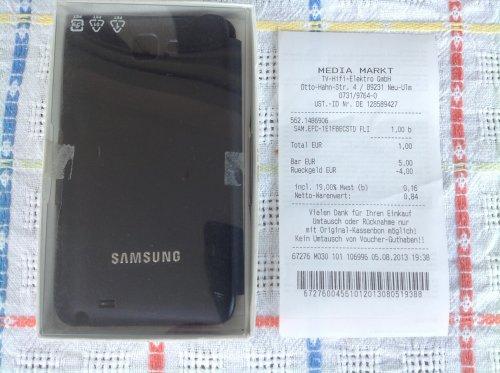 Offline: Original Flipcase für Samsung Galaxy Note 1 n7000 im MM Neu-Ulm