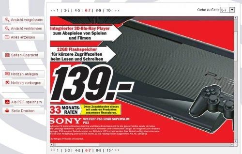 [ MM Porta ] Sony Playstation 3 PS3 Super Silm 12GB schwarz + Dualshock Controller  139