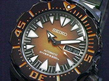 Seiko Monster All-Black Japan Made SRP311J