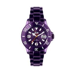 Modische Ice-Watch Armbanduhr Ice-Alu Unisex violett AL.DP.U.A.12