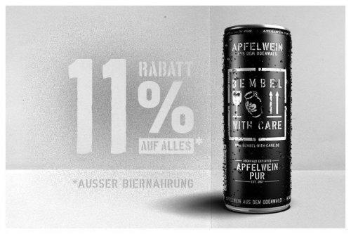 Bembel with Care Apfelwein - 11 % Rabatt durch Code im Onlineshop!