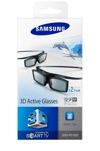 Samsung SSG-P51002/XC 3D-Active-Shutter-Brillen Starterset (Doppelpack, Batteriebetrieb) @Amazon.de