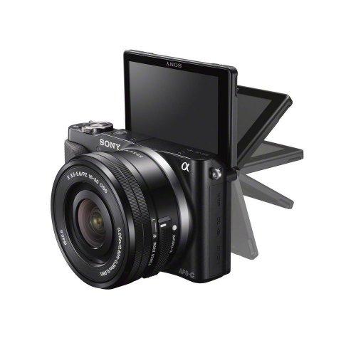 Sony NEX-3NLB Systemkamera (16,1 Megapixel, 7,5 cm (3 Zoll) LCD-Display, Full-HD, HDMI, USB 2.0) inkl. SEL-P 16-50mm Objektiv schwarz inkl. 50€ Amazon Gutschein für 369€