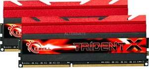 G.SKill Trident 8GB Kit DDR3 PC3-19200 CL10 (F3-2400C10D-8GTX)