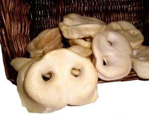 Gepuffte Honignasen vom Schwein