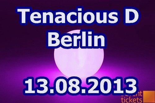 TENACIOUS D  Konzerttickets - Berlin - Zitadelle 13.08.13 für 27 Euro inkl. Versand