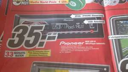 (Lokal Siegen) Autoradio Pioneer MVH 150 UI