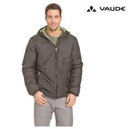 Vaude - Wittaker - Herren Jacke - grau gelb/blau kariert