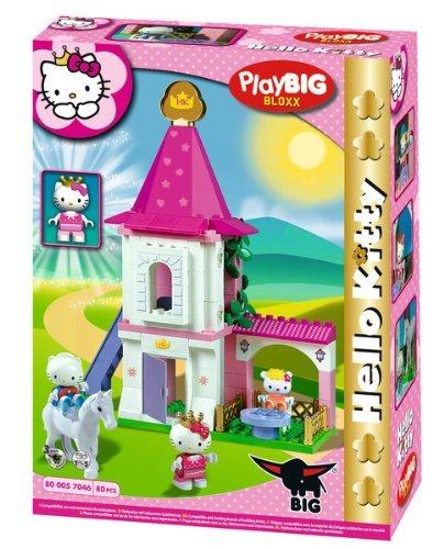 Big 57046 - PlayBIG Bloxx Hello Kitty Princess Turm für 13,79€ @Amazon Prime