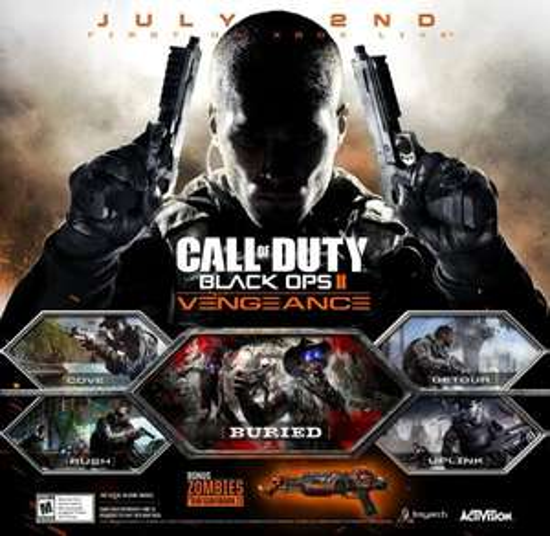 Call of Duty®: Black Ops II - Vengeance[DLC Pack-Steam] für 11€ @Amazon.com