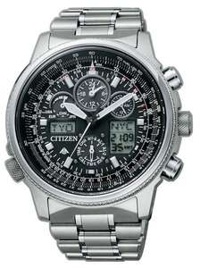 Citizen Herren-Armbanduhr Flieger Chronograph Promaster Sky Hawk JY8020-52E inkl. Vsk für 561,97 € [Amazon.it]