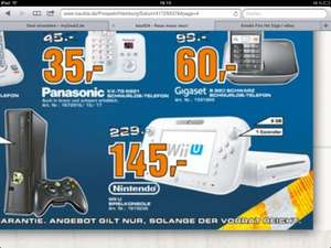 Wii u 8gb[lokal hamburg] bei Saturn