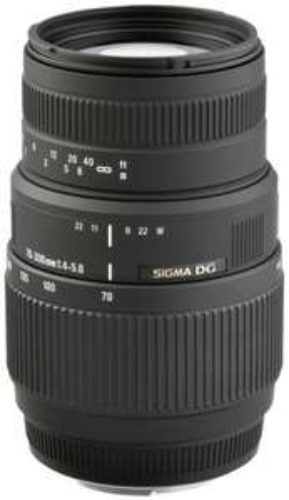 Sigma Objektiv für Nikon, 70-300mm, 4,0-5,6, DG, Auto-Fokus, 89,99 Euro auf ebay, Makro
