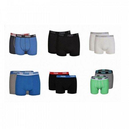 6er Pack Puma Boxershort verschiedene Farben für 31,85€