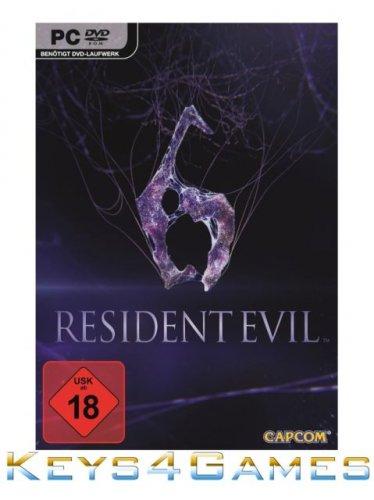 Resident Evil 6 Steam Download Key