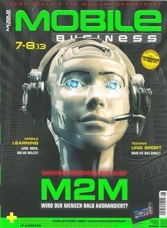 Frei-Exemplar der Zeitschrift Mobile Business (nicht nur für online Leser)