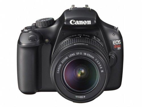 Canon EOS 1100D Rebel T3 EF-S 18-55 IS II Objektiv-Kit