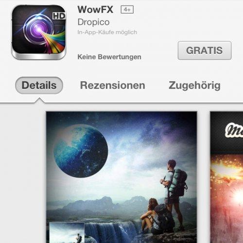 [iOS] Wow FX