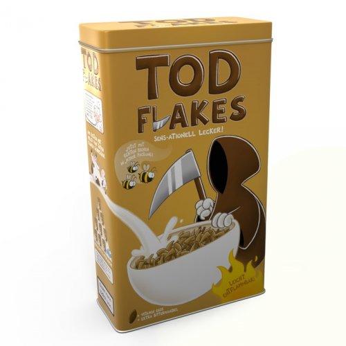 """Müslibox """"Todflakes"""" @nichtlustig.de + Nahrungspyramide + ... + BriefkastenForderungsManagementSticker für 12,99€ inkl. VSK"""