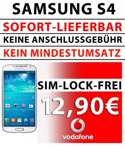 Durch 2 Schubladenverträge: Samsung S4 für 359,59€ ; HTC ONE für 399,59€ (Studenten)