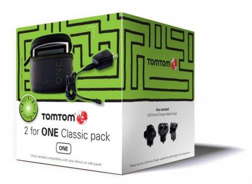 TomTom 2forONE Classic Cube Pack (Tasche, USB-Reiseladegerät, Trageriemen) für TomTom One & Start2 für 3€ @Amazon Primes