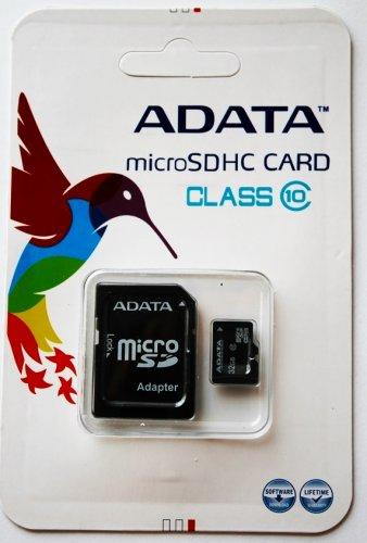 A-Data Class 10 microSD 32GB Speicherkarte für nur 19,99 EUR inkl. Versand