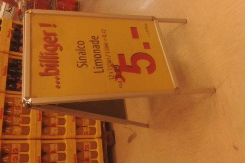 [LOKAL Ahrensburg bei HH] Offline 12 x einen Liter Sinalco Limonade