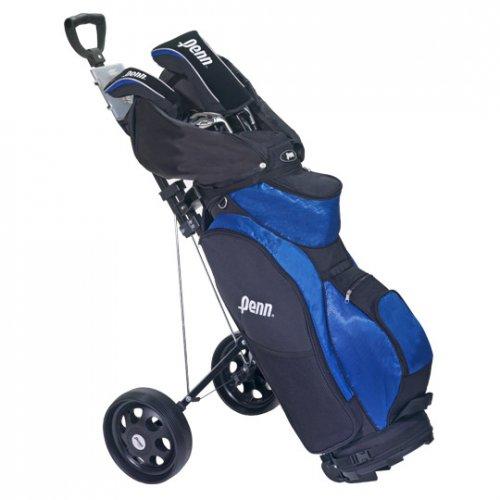 Penn, Golf-Set, 14-teilig für Herren, inkl. Trolley [@real]