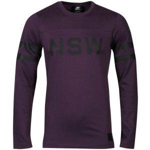 Nike Men's Nsw Football Jersey Purple / Black bei ZAVVI UK