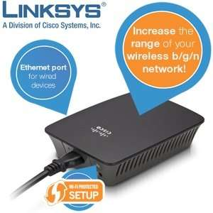 Linksys RE1000 Wireless-N Range Extender (Refurbished) für 25,90€ @ IBood