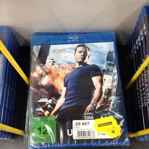 Lokal? Berlin MediMax: Bourne Ultimatum BluRay