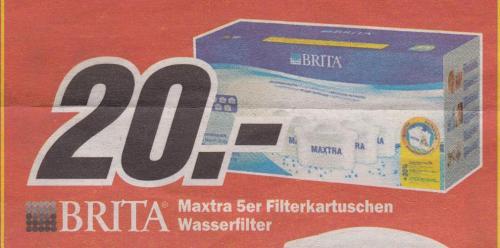 [Offline] Brita Maxtra 5er Filterkartuschen @MediaMarkt Koblenz&Neuwied