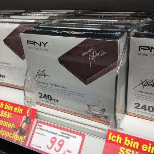 [Lokal Magdeburg] PNY XLR8 SSD 240GB