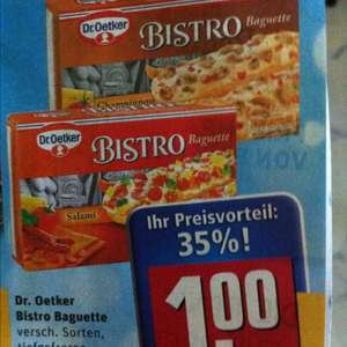 Dr. Oetker Bistro Baguette 1,00€ REWE
