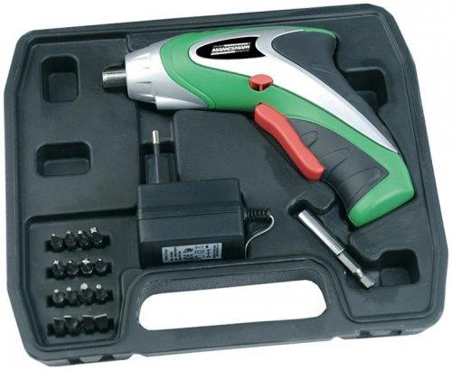 Brüder Mannesmann M17730 Akkuschrauber 3,6 Volt für 15€ @Voelkner