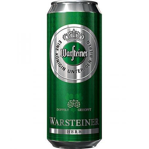 [Offline] Warsteiner Dose 0,5l + Warsteiner Herb Dose 0,5l