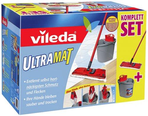 Kaufland Hannover: Vileda UltraMat Komplett-Set (Eimer, Auswringer, Wischer + Microfaser-Wischbezug), nur 14,99 Euro