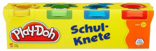 Rossmann (offline): Play-Doh Schulknete, 4 x 56,5 g (rot, blau, grün, gelb), nur 1,00 Euro