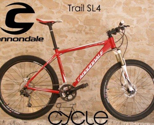 """Cannondale Trail SL 4 - gutes Einsteiger 26"""" MTB bei Zweirad Stadler"""