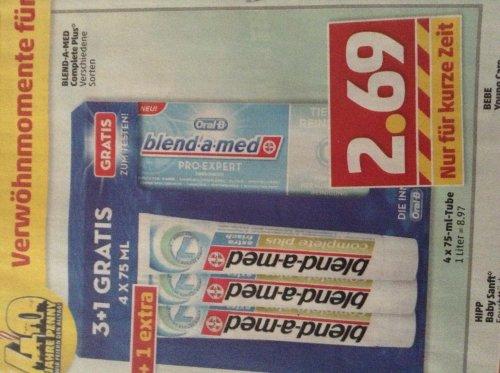 3 x blend-med complete plus + 1 x blend-a-med pro-expert nur 2,69 Euro @ Penny