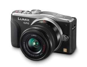 Panasonic LUMIX DMC-GF6 Digitale Systemkamera mit 14-42 mm Objektiv inkl. Vsk für ca. 421 €  [Amazon.uk]