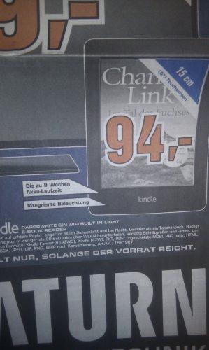 Lokal Saturn Moers Kindel Paperwhite für 94€ Apple TV 79€ und vieles mehr.