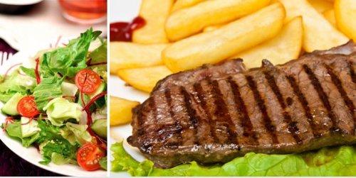 [Stuttgart] Rumpsteak vom Grill mit Pommes oder gemischtem Salat für 2 Personen ab 12,40€ statt 38,80€