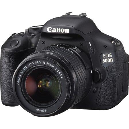 """Canon Spiegelreflexkamera 18 MP inkl. Objektiv 18-55 """"EOS 600D"""" für 429,90€ @ ZackZack"""