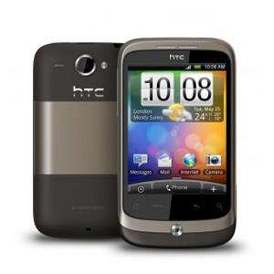 HTC Wildfire Android Handy für 159,99 €