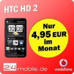 HTC HD2 + Vodafone Junge Leute 4,95 € (brauchbar) @ eBay