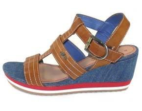 S.OLIVER Leder Damen Sandalette für 23,24 € bei MeinPaket.de