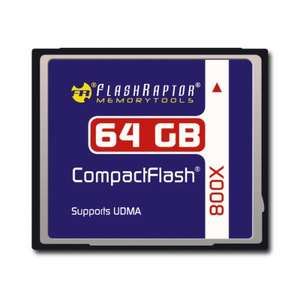 CompactFlash 64 GB Speedindex 800x Bulkware