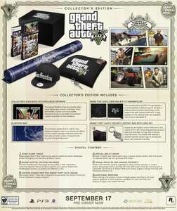 GTA V Collector's Edition * Playstation 3 * 129,99 € * rockstarwarehouse