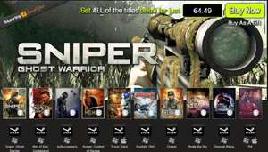 [Steam] [Bundle Stars] Heroes of Conflict Bundle - 10 Steam games für 4,49€ - Sniper: Ghost Warrior usw
